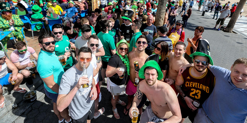 Saint Patrick's Day in Benidorm